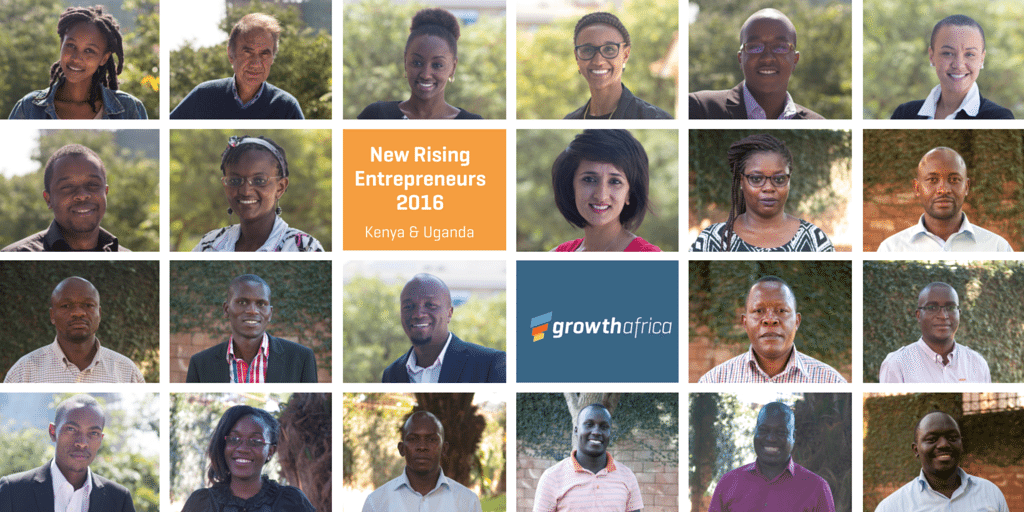 Collage of entrepreneurs selected Kenya and Uganda