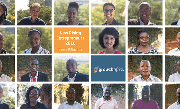 Collage of entrepreneurs selected Kenya and Uganda